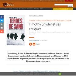 Timothy Snyder et ses critiques