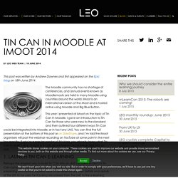 Tin Can in Moodle at iMoot 2014