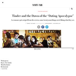 Tinder and Hookup-Culture Promotion