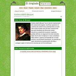8 rimas de Bequer en un libro interactivo precioso.