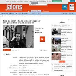 Niki de Saint Phalle et Jean Tinguely évoquent leur travail commun