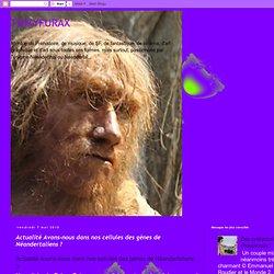 Actualité Avons-nous dans nos cellules des gènes de Néandertalie