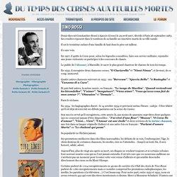 Tino Rossi - Biographie