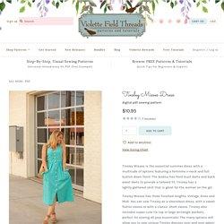 Tinsley Misses Dress – Violette Field Threads