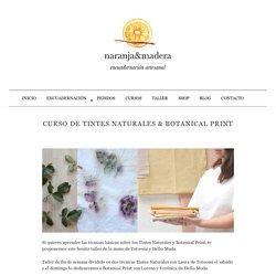 Curso de Tintes Naturales & Botanical Print