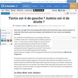 France : Tintin est-il de gauche? Astérix est-il de droite?