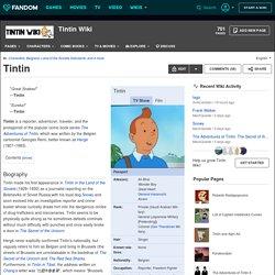 Tintin Wiki