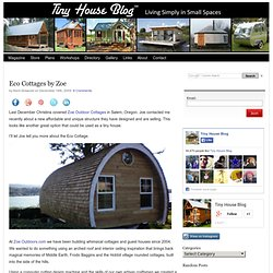 Eco Cottages by Zoe