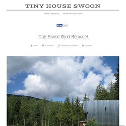 Tiny House Shed Remodel