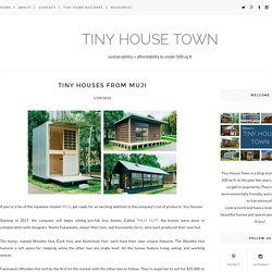 Tiny Houses From MUJI - TINY HOUSE TOWN