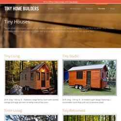 Tiny Houses - Tiny Home Builders