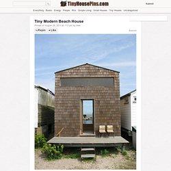 Tiny Modern Beach House