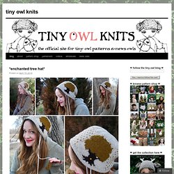 tiny owl knits