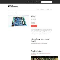 TinyG CNC Controller - Synthetos