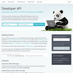Developer API