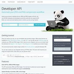 TinyPNG – Developer API