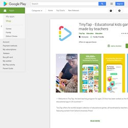 TinyTap, Make & Play fun apps – Android-appar på Google Play