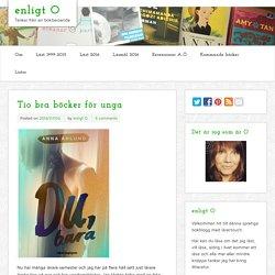 Tio bra böcker för unga