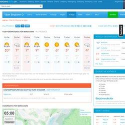 Tiodygnsprognos för Berghamn (Kramfors)