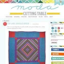 Tip Jar: Single-wide… « modafabrics