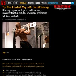 Tip: The Smartest Way to Do Circuit Training