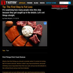 Tip: The First Step to Fat Loss