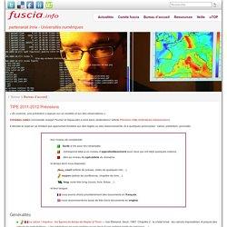 TIPE 2011-2012 Prévisions » fuscia