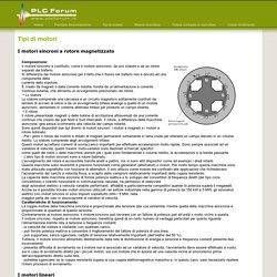 Tipi di motori - Motori elettrici