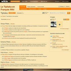 Le Tipitaka en Français