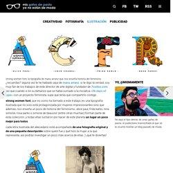 strong women font, la tipografía de manu arranz que nos enseña historia del feminisno