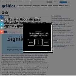 Signika, una tipografía para señalización con carácter suave, elegante y gratuita