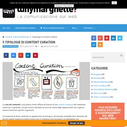 Content curation tipologie