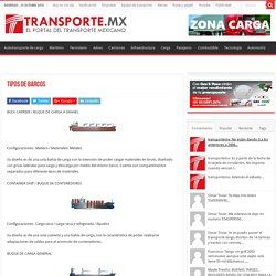Tipos de barcos – Transporte.mx