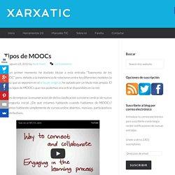 Tipos de MOOCs Basado en Tareas- B en contenido- basado en redes