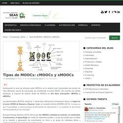 Tipos de MOOCs: cMOOCs y xMOOCs