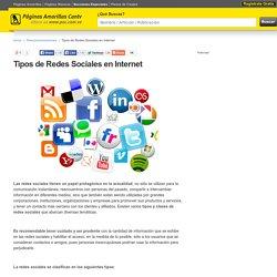 Tipos de Redes Sociales en Internet