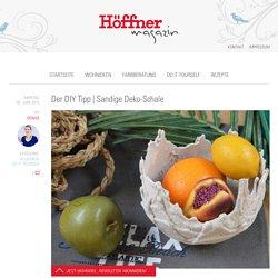 Sandige Deko-Schale - Höffner