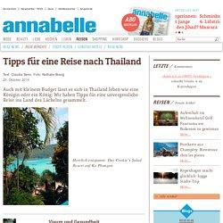 Tipps für eine Reise nach Thailand
