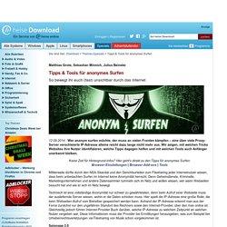 Tipps & Tools für anonymes Surfen