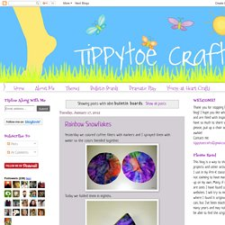 Tippytoe Crafts: bulletin boards