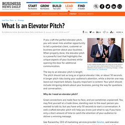 Best Elevator Pitch: 30-Second Speech to Grab Your Audience