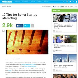 10 Tips for Better Startup Marketing