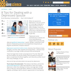 8 Tips for Dealing with a Depressed Spouse