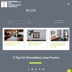 5 Tips for Decorating Large Rooms