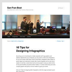 10 Tips for Designing Infographics « San Fran Beat