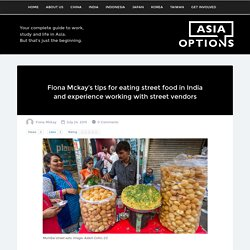 Tips for eating street food in India