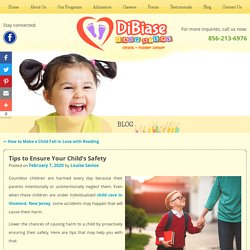 Tips to Ensure Your Child's Safety