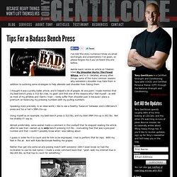 Tony GentilcoreTony Gentilcore