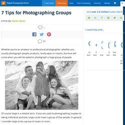 7 Tips for Photographing Groups