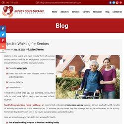 Tips for Walking for Seniors